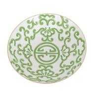 Dana Gibson Green Sultan Bowl, Large