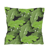 Dana Gibson Palm Leaf Pillow 22""