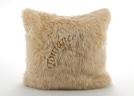 Tourance Australian Sheep Square Pillow in Camel