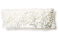 Tourance Faux Fur Lumbar Pillow in Australian Sheep Ivory