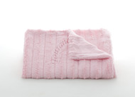 Tourance Channel Baby Blanket in Pink