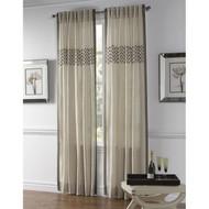Cloud9 Design Aken Curtain Panel 12465PN-WH