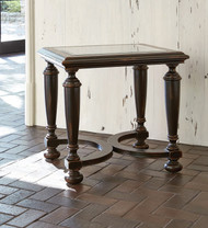 Ambella Scrolling Gate End Table