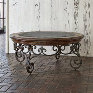 Ambella Montego Round Cocktail Table
