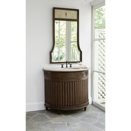 Ambella Fluted Sink Chest - Dark
