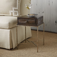 Ambella Campaign Mini Table - Dark
