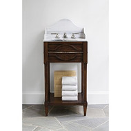 Ambella Mini Spindle Sink Chest - Walnut