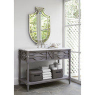 Ambella Mini Spindle Sink Chest - Shown in Weathered Grey