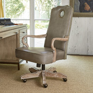 Ambella Queen Anne Desk Chair - Oak