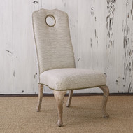 Ambella Queen Anne Side Chair - Oak Balsamo/Rain