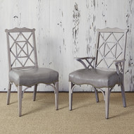 Ambella 18th Century Side Chair - Grey