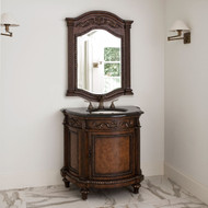 Ambella Demilune Sink Chest - Dark