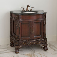 Ambella Ball & Claw Medium Sink Chest - Dark