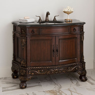 Ambella Ball & Claw Sink Chest - Dark