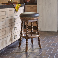 Ambella Dawson Swivel Counter Stool - Armless/Backless