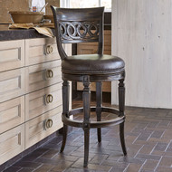 Ambella Rochelle Swivel Counter Stool - Armless