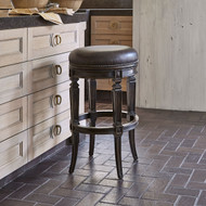 Ambella Rochelle Swivel Counter Stool - Armless/Backless
