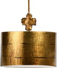 Flambeau Fragment Pendant - Large (Gold)