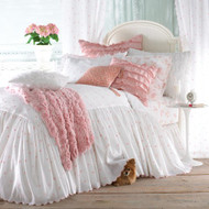 """Isabella Collection by Kathy Fielder Molly Princess Duvet, 24"""" Drop"""