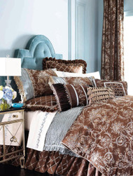 Isabella Collection by Kathy Fielder Symone Damask Duvet
