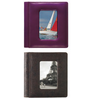 "Raika USA 4"" x 6"" Foldout Framed-Front Photo Album"