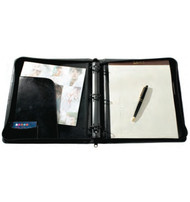 Raika USA 3-Ring Zipper Binder
