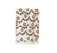 Dana Gibson Santos Tea Towel in Brown