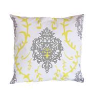 """Dana Gibson Yellow Venetto 22"""" Pillow"""