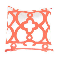 "Dana Gibson Orange Ming 22"" Pillow"