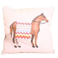 Dana Gibson Horse Pillow