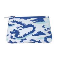Dana Gibson Dragon in Blue Travel Bag