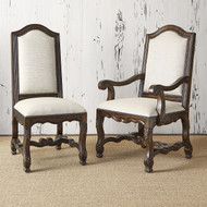 Ambella Avignon Side Chair - Balsamo Rain