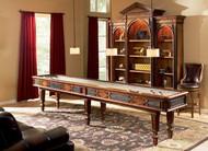 Ambella Elegant Scroll Shuffleboard Table - 12'