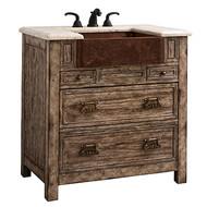 Ambella Bedford Ridge Sink Chest - Vintage Finish