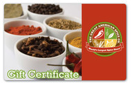 AmericanSpice Gift Certificate