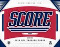 2018 Panini Score Football Jumbo 12 Box Case