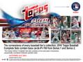 2018 Topps Complete Baseball Factory Set Hobby 12 Set Case