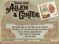 2018 Topps Allen & Ginter Baseball Hobby 12 Box Case
