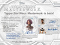 2018 Topps Star Wars Masterwork Hobby 8 Box Case