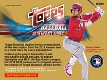 2018 Topps Update Series Baseball Jumbo Box + 2 Silver Packs