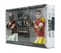 2018 Leaf Metal Draft Football Hobby 15 Box Case