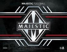 2017 Panini Majestic Football 5 Box Case