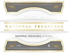 2018 Panini National Treasures Baseball Hobby 4 Box Case