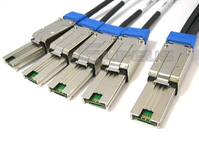 External Mini SAS to 4 External Mini SAS