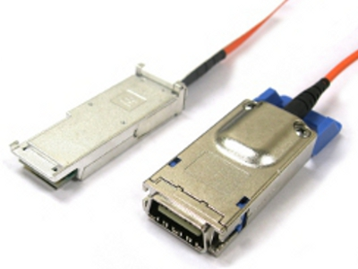 QSFP to CX4 Optical Cables