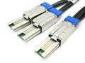 External Mini SAS to 2 External Mini SAS 1 Meter Y Cable