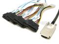 SAS to 4 29-Pin SAS Breakout 1 Meter Cable