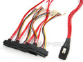Internal Mini SAS to 4 29-Pin SAS 1 Meter Breakout Cable