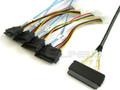 32-Pin SAS to 4 29-Pin SAS 1 Meter Cable