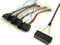32-Pin SAS to 4 29-Pin SAS 1 Meter Cable